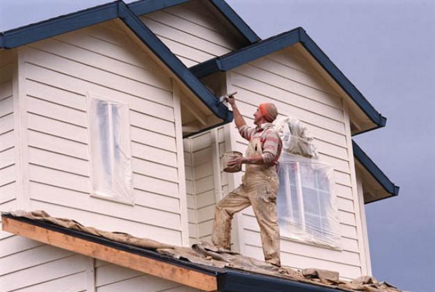 Чем красить деревянный дом снаружи - лучшая фасадная краска для деревянного дома 3