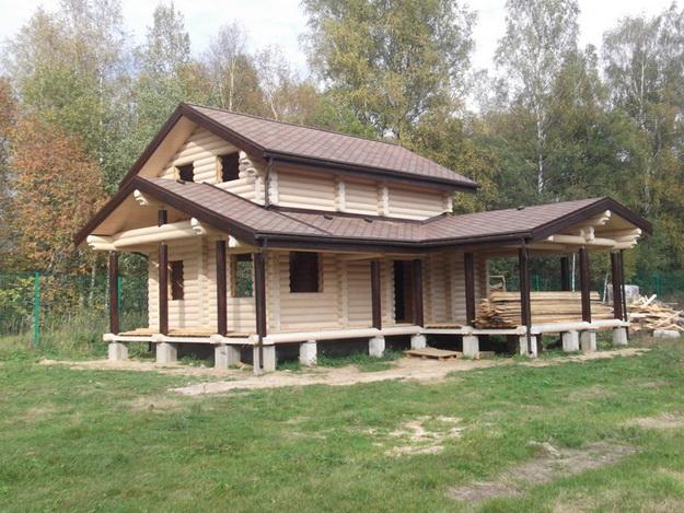 Чем красить деревянный дом снаружи - лучшая фасадная краска для деревянного дома 6