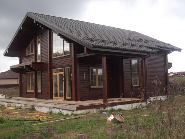 Чем красить деревянный дом снаружи - лучшая фасадная краска для деревянного дома 7