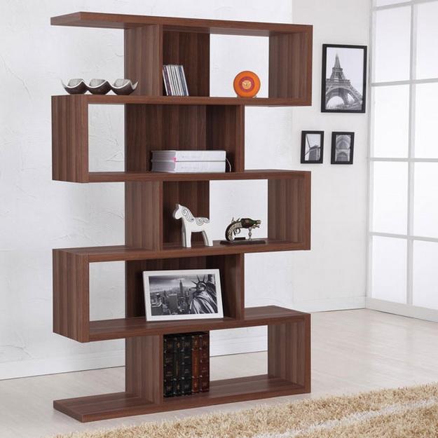 Деревянные стеллажи для дома – дизайн и варианты с фото 2