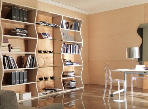 Деревянные стеллажи для дома – дизайн и варианты с фото 3