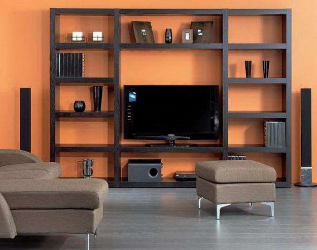 Деревянные стеллажи для дома – дизайн и варианты с фото 5