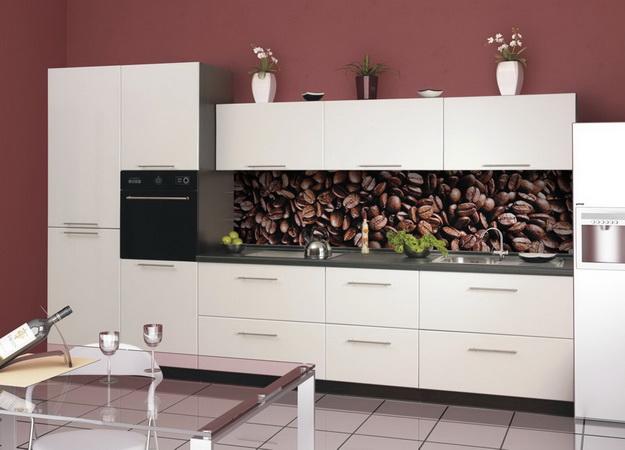 Кухонный фартук из ПВХ панелей - планируем дизайн современной кухни 2