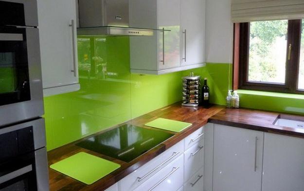 Кухонный фартук из ПВХ панелей - планируем дизайн современной кухни 8