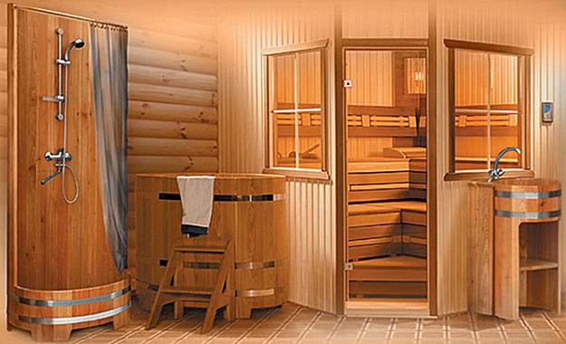 Обшивка бани внутри вагонкой - индивидуальный банный дизайн 6