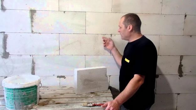 Чем штукатурить газобетон внутри дома - делаем подготовку к чистовой отделке 4