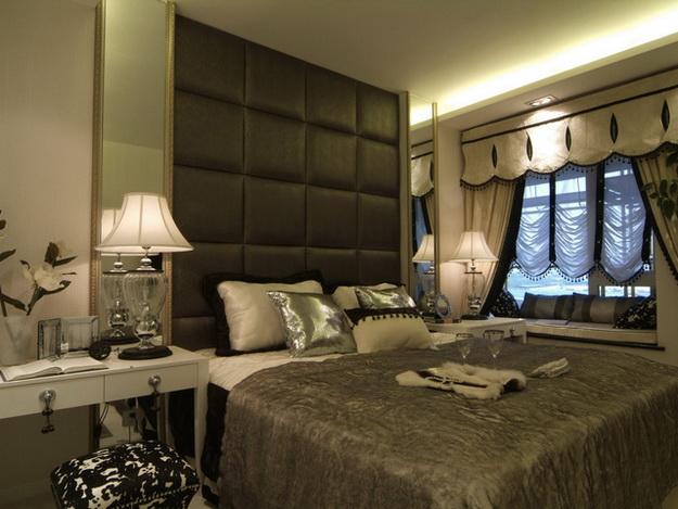 Оригинальные мягкие стеновые панели для спальни - варианты и дизайн 2