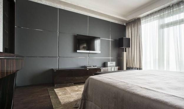 Оригинальные мягкие стеновые панели для спальни - варианты и дизайн 3