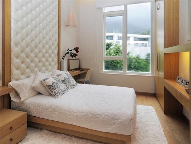 Оригинальные мягкие стеновые панели для спальни - варианты и дизайн 4