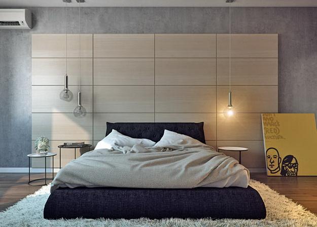 Оригинальные мягкие стеновые панели для спальни - варианты и дизайн 5