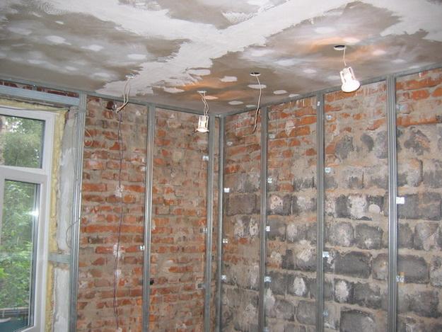 Обшиваем стены гипсокартоном своими руками - делаем ремонт 2