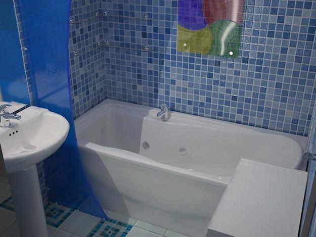 Пошаговый монтаж ПВХ панелей в ванной 8