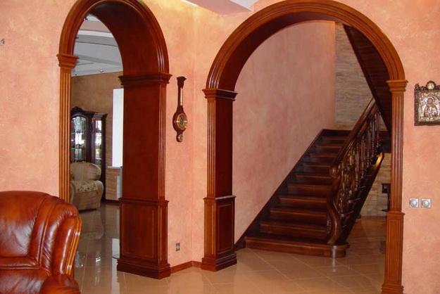 Стеновые панели из дерева в интерьере частного дома - варианты и дизайн 2