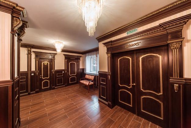 Стеновые панели из дерева в интерьере частного дома - варианты и дизайн 8