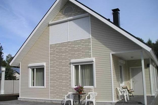 Декоративные панели для наружной отделки дома 3
