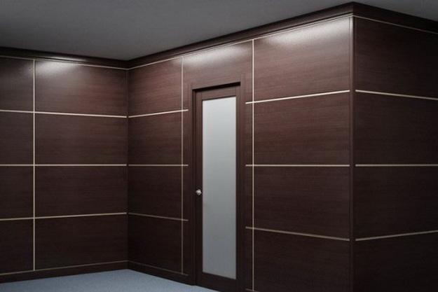 Интересная обшивка стен МДФ панелями – варианты дизайна 6