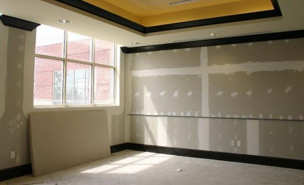 Гипсокартон на стены без каркаса - пошаговый монтаж, обшивка стен и выравнивание 6
