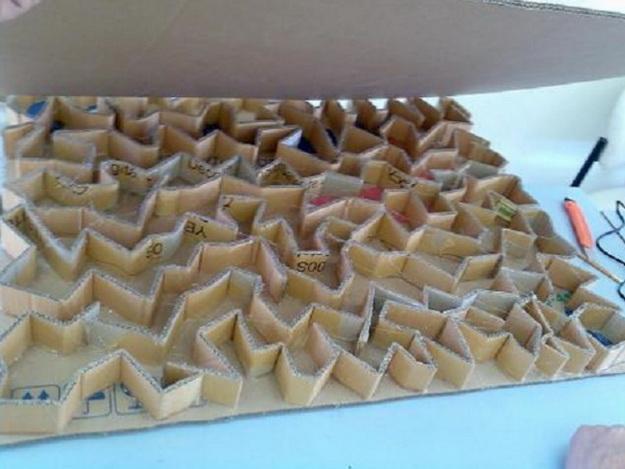 Как можно сделать камин из коробок своими руками – мастер класс 2