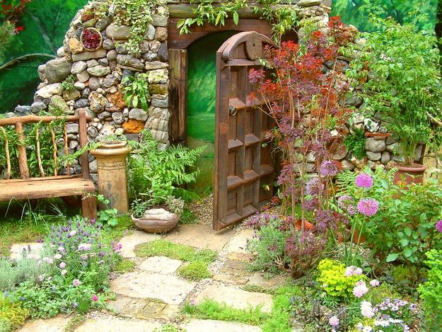 Интересный дизайн садового участка своими руками – фотогалерея и видео 3
