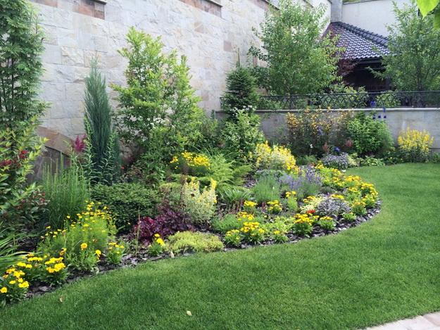 Интересный дизайн садового участка своими руками – фотогалерея и видео 5