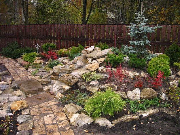Интересный дизайн садового участка своими руками – фотогалерея и видео 8