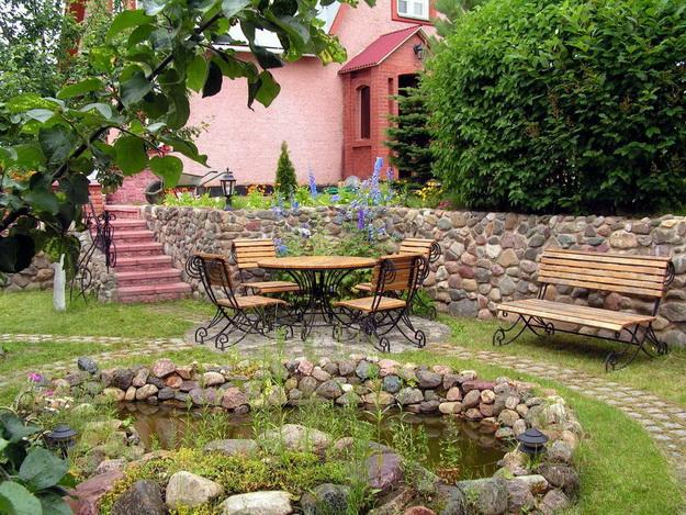 Ландшафтный дизайн небольшого участка перед домом - варианты и интересные решения 4