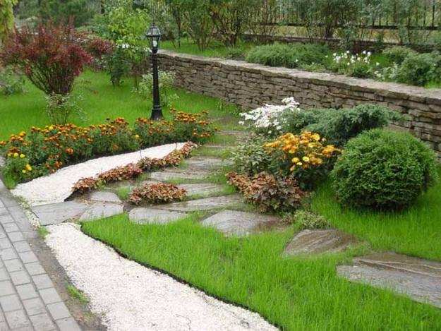 Ландшафтный дизайн небольшого участка перед домом - варианты и интересные решения 5