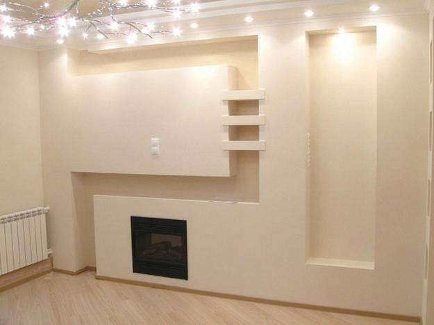 Правильная отделка стен гипсокартонном без каркаса и профиля 2
