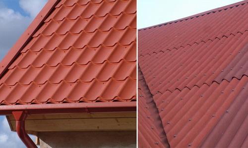 Чем лучше и дешевле покрыть крышу частного дома 2