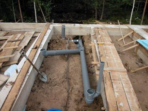 Дачная канализация без откачки своими руками - из бетонных колец 2