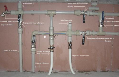 Отопление из полипропиленовых труб в частном доме своими руками 4