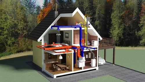 Правильный расчет мощности котла для отопления частного дома 2
