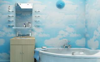 Пошаговый монтаж ПВХ панелей в ванной