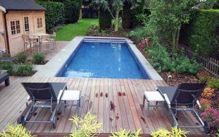 Бассейн у дома — как сделать и фото