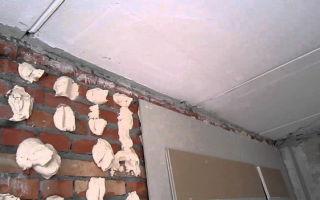 Гипсокартон на стены без каркаса — пошаговый монтаж, обшивка стен и выравнивание