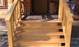 Крыльцо деревянного дома — фотогалерея разных вариантов