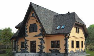 Крыши частных домов — фото вариантов