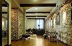 Интерьерная отделка стен под кирпичную кладку — варианты дизайна