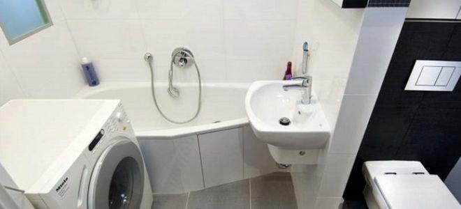 Дизайн туалета и ванной в панельном доме
