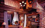 Бревенчатый дом  — подбираем интерьер