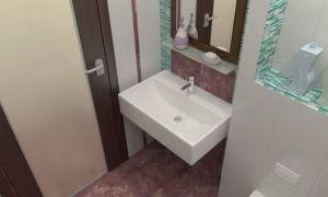 Дизайн санузлов и ванных комнат по метрам