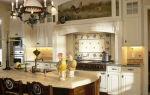 Кантри-кухня в частном доме и в городской квартире