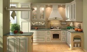 Современная кухня – дизайн в классическом стиле