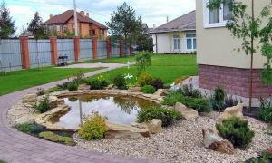 Ландшафтный дизайн небольшого участка перед домом — варианты и интересные решения