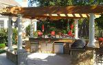 Летняя кухня в частном доме