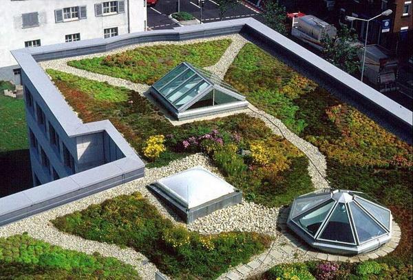 крыши многоэтажных домов фото 2