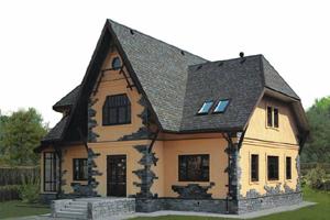Крыши частного дома дизайн