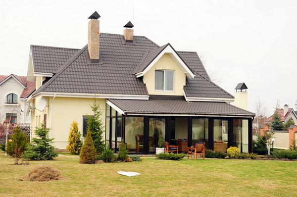 крыши частных домов фото 2