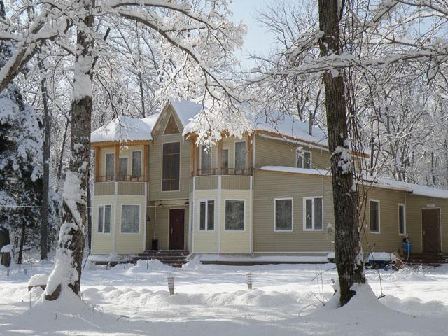 В холодных регионах основное внимание при планировании дома уделяется его утеплению