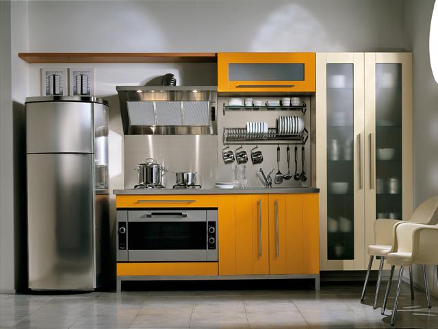 Хай-тек - отличный стиль для современной кухни